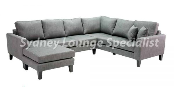 Sydney sectional corner modular chaise lounge sofa