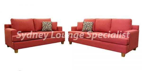 3 seater + 2 seater sofa lounge suite set