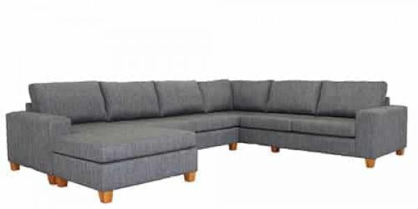 Hoxton 7 Seater Modular Chaise Lounge Suite