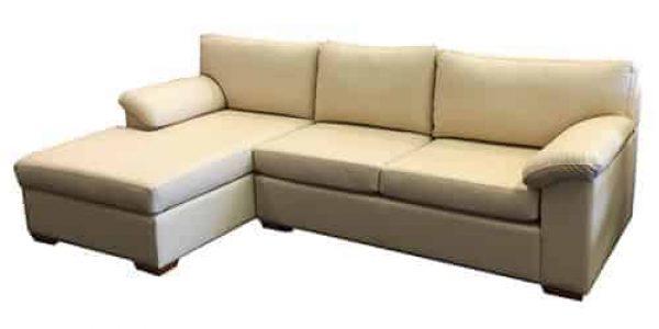 padded arm - chaise lounge - sofa corner modular