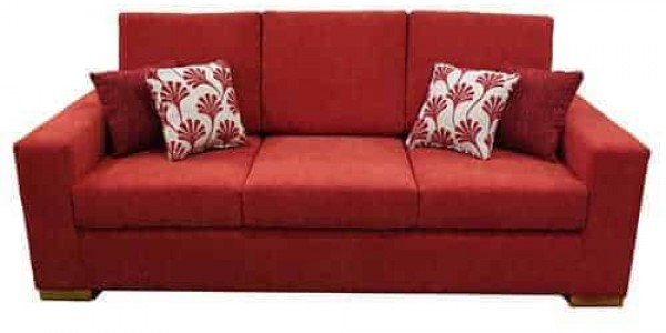 3 seater sofa lounge suite - buttoning -studs