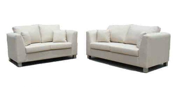 buttoning -sofa lounge suite set - 2.5 seater - australian made