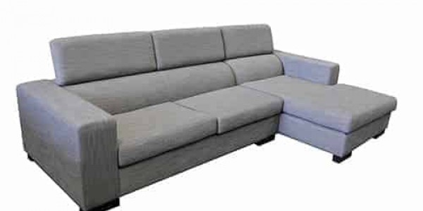 Australian made - chaise lounge - sofa corner modular include adjustable head rest