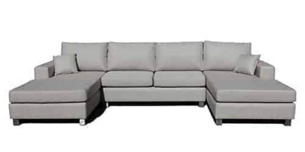 double chaise lounge - sofa corner modular - day bed
