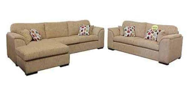 fabric chaise lounge - sofa corner modular