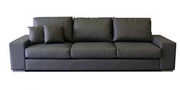 winstion pvc - buttoning - studs - 3.5 seater